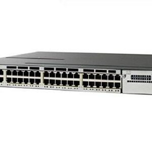 Cisco WS-C3850-48F-S Catalyst 3850 48-Port PoE+ IP Base Switch